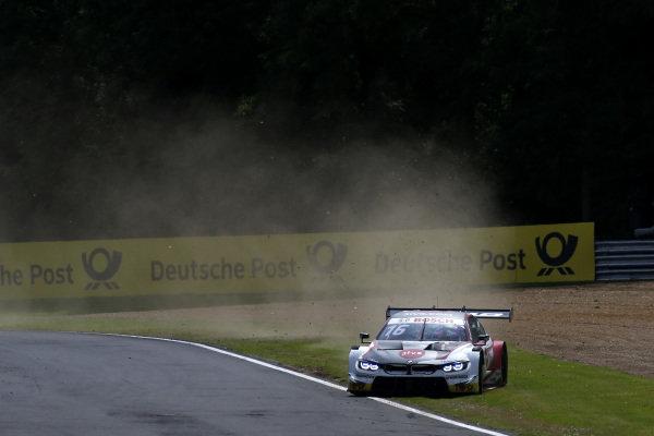 Timo Glock, BMW Team RMG, BMW M4 DTM off road.
