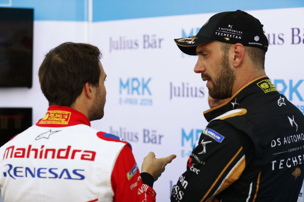 Jérôme d'Ambrosio (BEL), Mahindra Racing, and Jean-Eric Vergne (FRA), DS TECHEETAH