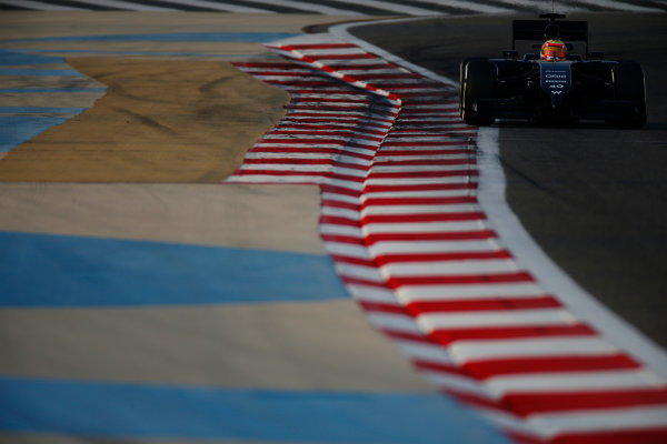 2014 F1 Pre Season Test 2 - Day 3 Bahrain International Circuit, Bahrain. Saturday 22 February 2014. Felipe Nasr, Williams FW36 Mercedes. World Copyright: Glenn Dunbar/LAT Photographic. ref: Digital Image _W2Q4610