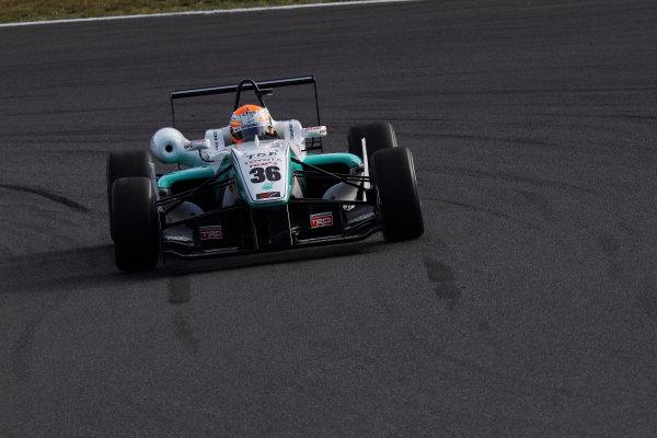 Rd 14 - 15. Fuji Speedway, Japan. 13th - 14th October 2012. Rd 14 - Winner Yuichi Nakayama ( #36 PETRONAS TEAM TOM'S ) World Copyright: Yasushi Ishihara/LAT Photographic ref: Digital Image 2012JF3_Rd14_005