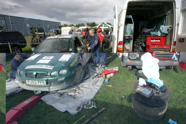 2006 British Rally ChampionshipTrackrod Rally, Yorkshire.7th October 2006David Meredith and Mark HattonWorld Copyright - Ebrey/LAT Photographic