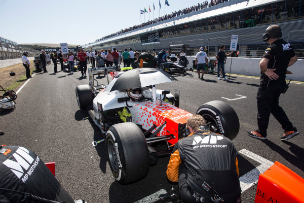 2017 FIA Formula 2 Round 10. Circuito de Jerez, Jerez, Spain. Sunday 8 October 2017. Jordan King (GBR, MP Motorsport).  Photo: Andrew Ferraro/FIA Formula 2. ref: Digital Image _FER3202