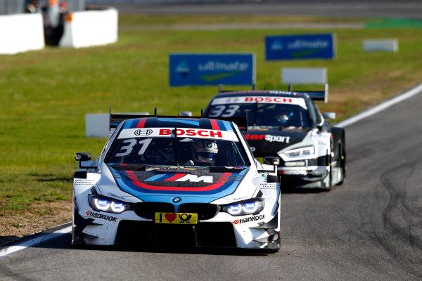 2017 DTM Round 9  Hockenheimring, Germany  Sunday 15 October 2017. Tom Blomqvist, BMW Team RBM, BMW M4 DTM  World Copyright: Alexander Trienitz/LAT Images ref: Digital Image 2017-DTM-HH2-AT3-2163
