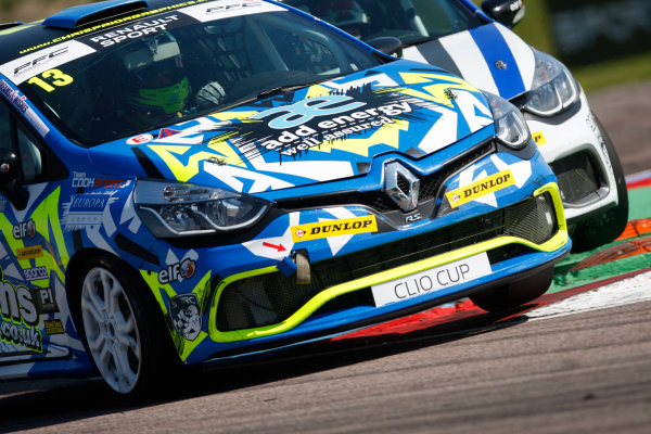 2016 Renault Clio Cup, Thruton, 7th-8th My 2016 Rory Collingbourne (GBR) Team Cooksport Renault Clio Cup  World copyright. Jakob Ebrey/LAT Photographic