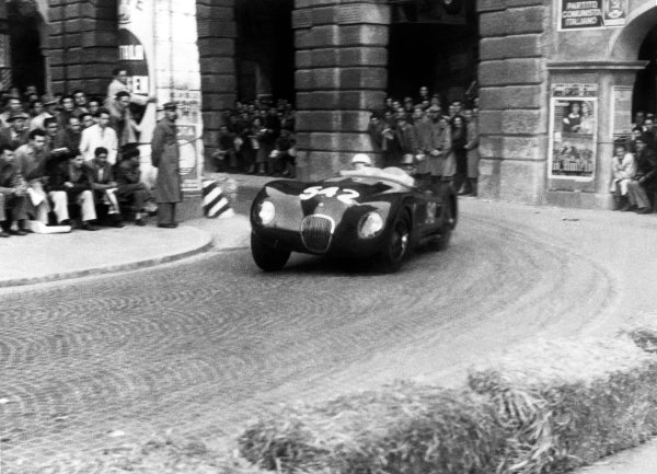 Brescia-Rome-Brescia, Italy. 26th April - 1st May 1953.