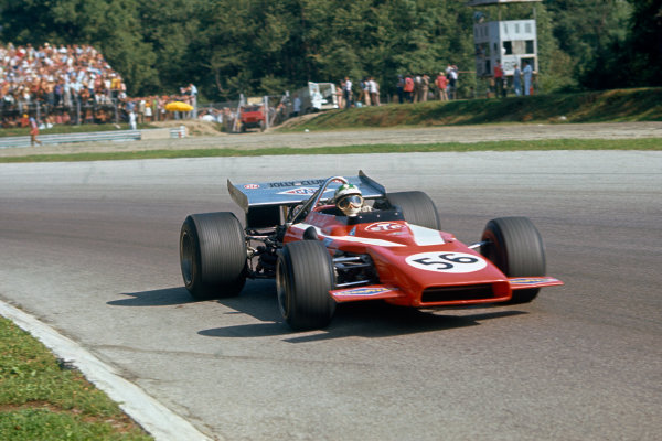 Monza, Italy. 4-6 September 1970.  Silvio Moser, Bellasi F170 Ford, did not qualify.  Ref: 70ITA13. World Copyright: LAT Photographic