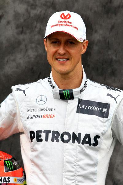 Michael Schumacher (GER) Mercedes AMG F1. Formula One World Championship, Australian Grand Prix, Rd1, Preparations, Albert Park, Melbourne, Australia, Thursday 15 March 2012.