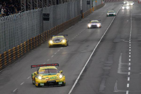 2015 FIA GT World Cup Circuit de Guia, Macau, China Sunday 19 November 2017. Darryl O'Young, Craft Bamboo Racing, Porsche 911 GT3R  World Copyright: Alexander Trienitz/LAT Images ref: Digital Image 2017-Macau-GP-AT1-3588