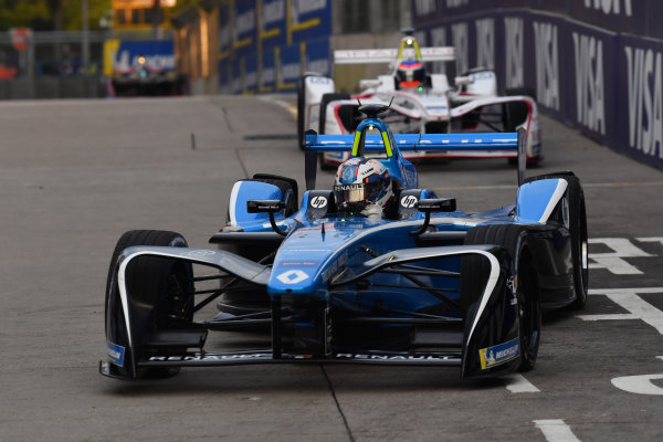 2017/2018 FIA Formula E Championship. Round 1 - Hong Kong, China. Saturday 02 December 2018. Nicolas Prost (FRA), Renault e.Dams, Renault Z.E 17. Photo: Mark Sutton/LAT/Formula E ref: Digital Image DSC_8497