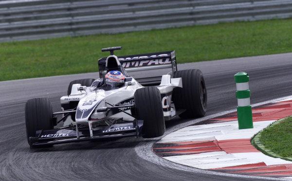 Sepang, Kuala Lumpur, Malaysia.20-22 October 2000.Jenson Button (Williams FW22 BMW).World Copyright - Etherington/LAT Photographicref:18mb digital image - Race