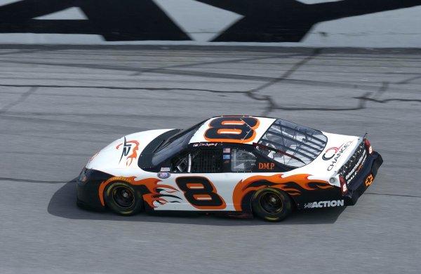 2003 NASCAR, Pepsi 400, Daytona Fla. July03-04,2003Dale Earnhardt jr. sporting new colors in BGN wars,-Robert LeSieur 2003LAT Photographic