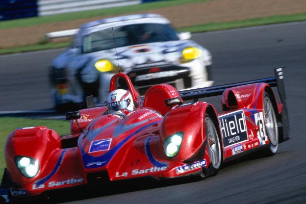 2004 Le Mans Endurance SeriesSilverstone 1000 KilometersSilverstone, England. 12th - 14th August 2004LMP2 winner Gounon/Frei/Hancock (Courage C65-AER). Action.World Copyright: Glenn Dunbar/LAT Photographicref: 35mm Transparency A17