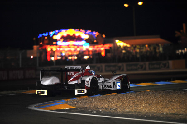 Circuit de La Sarthe, Le Mans, France. 13th - 17th June 2012. Thursday QualifyingAlex Brundle/Martin Brundle/Lucas Ordonez, Greaves Motorsport, No 42 Zytek Z11SN - Nissan. Photo: Jeff Bloxham/LAT Photographicref: Digital Image DSC_2021