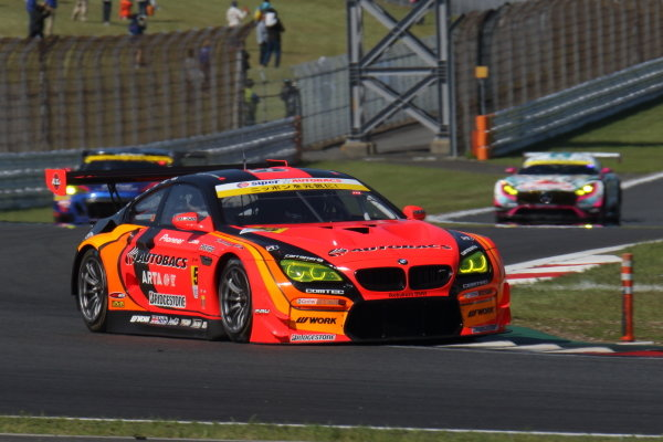 The GT300 winning Arta BMW M6 GT3 of Shinichi Takagi & Sean Walkinshaw.