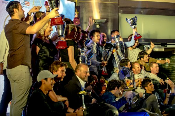 2016 GP2/3 Awards Evening. Yas Marina Circuit, Abu Dhabi, United Arab Emirates. Sunday 27 November 2016. Award winners. Photo: Zak Mauger/GP2 Series Media Service/GP3 Series Media Service. ref: Digital Image _X0W9998