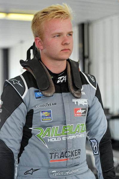 #17: Tyler Ankrum, DGR-Crosley, Toyota Tundra RAILBLAZA