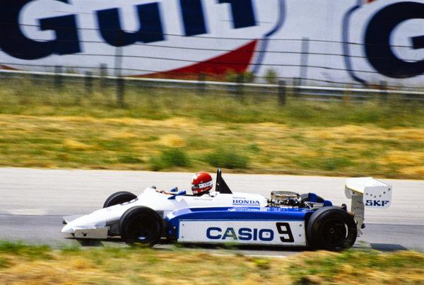 Mike Thackwell, Ralt RH6/83H Mugen Honda.