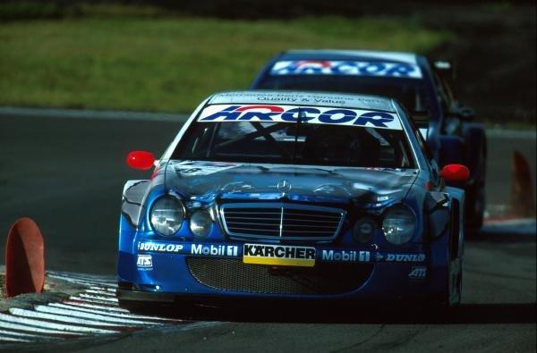 Marcel TiemannDTM Championship - Nurburgring, Germany, 20 August 2000