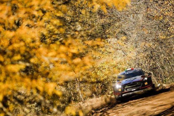 Lorenzo Bertelli (ITA) / Simone Scattolin (ITA), M-Sport World Rally Team Ford Fiesta RS WRC at World Rally Championship, Rd5, Rally Argentina, Day One, Villa Carlos Paz, Cordoba, Argentina, 28 April 2017.