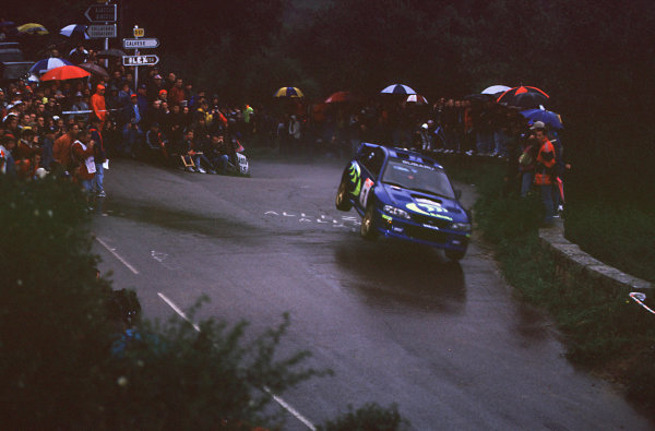 1998 World Rally ChampionshipTour de Corse, France3-6 May 1998Colin Mcrae and Nicky Grist (Subaru Impreza WRC)1st Position.World Copyright LAT Photographic