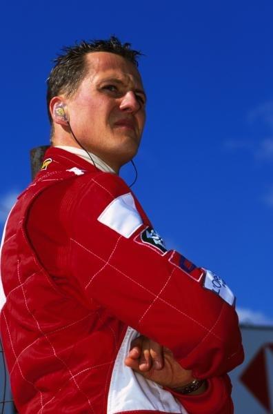 Michael Schumacher(GER) USA Grand Prix, Indianapolis 30 September 2001 BEST IMAGE