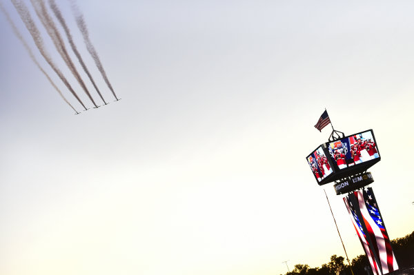 Monster Energy NASCAR Cup Series Federated Auto Parts 400 Richmond Raceway, Richmond, VA USA Saturday 9 September 2017 Flyover World Copyright: John K Harrelson / LAT Images