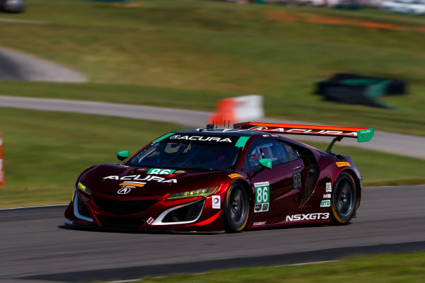 IMSA WeatherTech SportsCar Championship Michelin GT Challenge at VIR Virginia International Raceway, Alton, VA USA Friday 25 August 2017 86, Acura, Acura NSX, GTD, Oswaldo Negri Jr., Jeff Segal World Copyright: Jake Galstad LAT Images