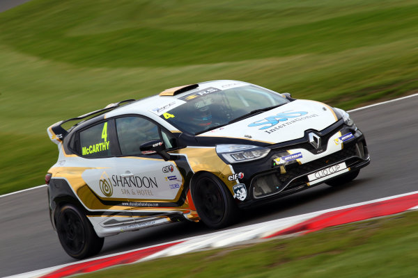2017 Renault Clio Cup, Brands Hatch, Kent. 30th September - 1st October 2017, Jack McCarthy (GBR) Team Pyro Renault Clio Cup World copyright. JEP/LAT Images