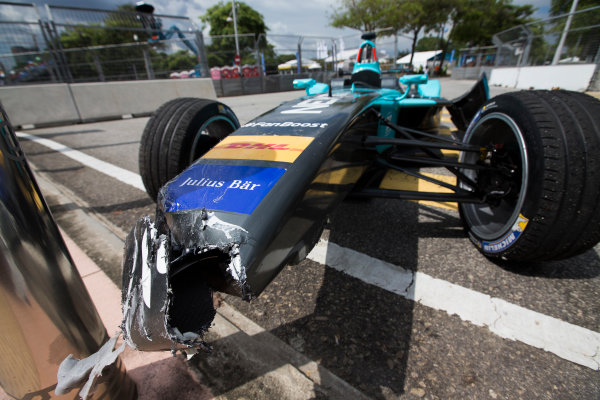2015/2016 FIA Formula E Championship. Putrajaya ePrix, Putrajaya, Malaysia. Saturday 7 November 2015. Race Car of Oliver Turvey (GBR) NEXTEV TCR FormulaE 001  Photo: Sam Bloxham/FIA Formula E/LAT ref: Digital Image _SBL1202