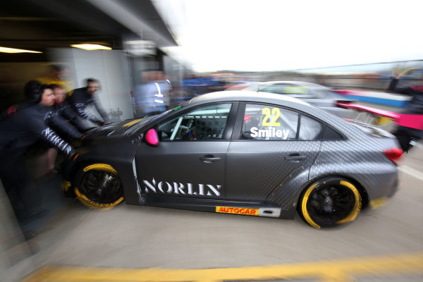 2017 British Touring Car Championship, Donington Park, England. 16th March 2017, Chris Smiley (GBR) BTC Norlin Racing Chevrolet Cruze World copyright. JEP/LAT Images