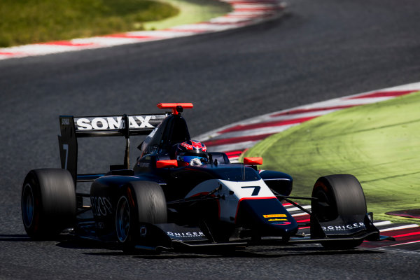 2016 GP3 Series Test 2. Circuit de Catalunya, Barcelona, Spain. Thursday 20 April 2017. Steijn Schothorst (NED, Arden International)  Photo: Zak Mauger/GP3 Series Media Service. ref: Digital Image _56I5529