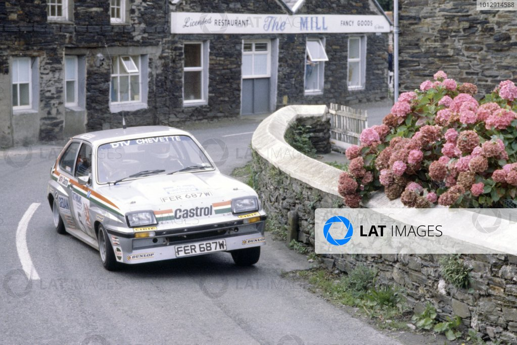1980 British Rally Championship.Manx Rally, Isle of Man, Great Britain. 12-13 September 1980.Jimmy McRae/Mike Nicholson (Vauxhall Chevette HSR), 3rd position.World Copyright: LAT PhotographicRef: 35mm transparency 80RALLY17