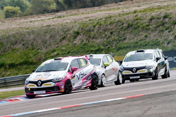 2016 Renault Clio Cup, Thruton, 7th-8th My 2016 Josh Price (GBR) Team Pyro Renault Clio CUp  World copyright. Jakob Ebrey/LAT Photographic