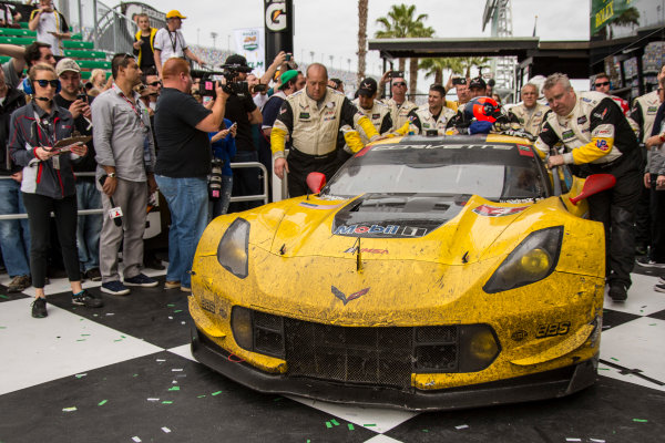 28-31 January, 2016, Daytona Beach, Florida USA 4, Chevrolet, Corvette C7, GTLM, Oliver Gavin, Tommy Milner, Marcel Fassler ?2016, Jake Galstad LAT Photo USA