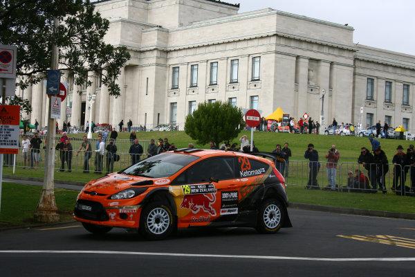 2010 FIA World Rally ChampionshipRound 05Rally New Zealand 7 - 9 May  2010Jari Ketomaa, Ford Fiesta S 2000, ActionWorldwide Copyright: McKlein/LAT