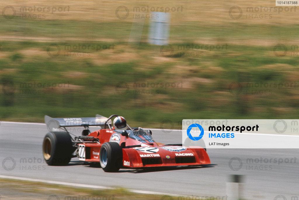1973 Austrian Grand Prix.  Osterreichring, Austria. 17-19th August 1973.  Chris Amon, Tecno PA123B, did not start.  Ref: 73AUT19. World Copyright: LAT Photographic