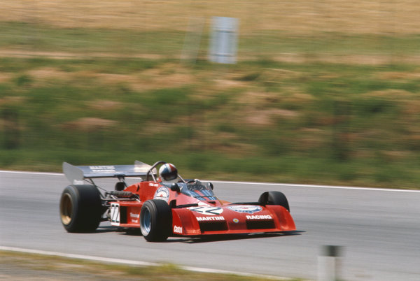 1973 Austrian Grand Prix.  Osterreichring, Austria. 17-19th August 1973.  Chris Amon, Tecno PA123B, did not start.  Ref: 73AUT19. World Copyright: LAT Photographic