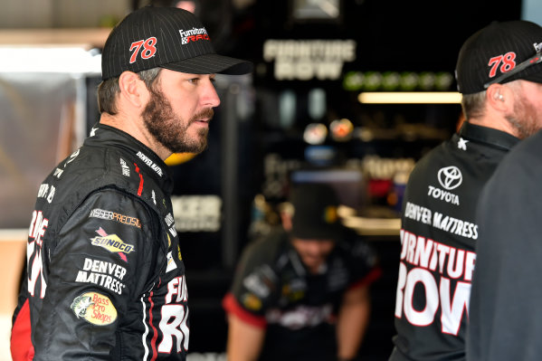 Monster Energy NASCAR Cup Series First Data 500 Martinsville Speedway, Martinsville VA USA Saturday 28 October 2017 Martin Truex Jr, Furniture Row Racing, Furniture Row/Denver Mattress Toyota Camry World Copyright: Scott R LePage LAT Images ref: Digital Image lepage-171028-mart-3213
