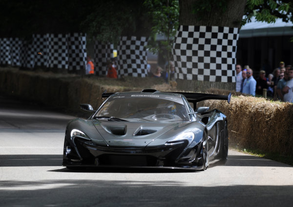 2016 Goodwood Festival of Speed Goodwood Estate, West Sussex,England 23rd - 26th June 2016 McLaren  P1 LM Kenny Brack World Copyright : Jeff Bloxham/LAT Photographic Ref : Digital Image