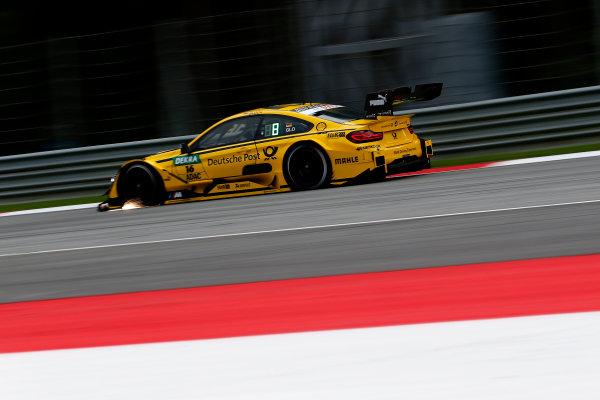 2017 DTM Round 8  Red Bull Ring, Spielberg, Austria  Friday 22 September 2017. Timo Glock, BMW Team RMG, BMW M4 DTM  World Copyright: Alexander Trienitz/LAT Images ref: Digital Image 2017-DTM-RBR-AT2-0616