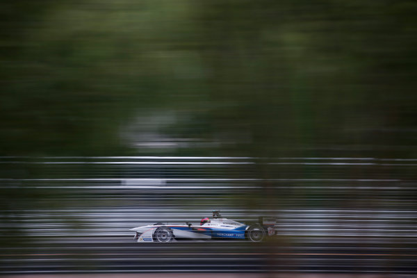 FIA Formula E - Second Practice Session Beijing E-Prix, China Saturday 13 September 2014. Franck Montagny (FRA)/Andretti Motorsport - Spark-Renault SRT_01E  Photo: Glenn Dunbar/LAT/ Formula E ref: Digital Image _89P1588