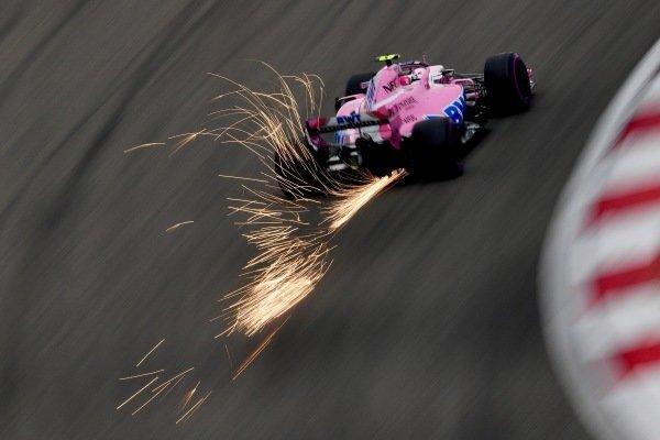 Esteban Ocon (FRA) Force India VJM11