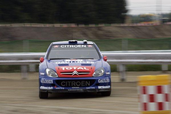 2006 FIA World Rally Champs. Round 6Rally Japan. 1st-3rd September 2006Sebastien Loeb, Citoen, actionWorld Copyright: McKlein/LAT
