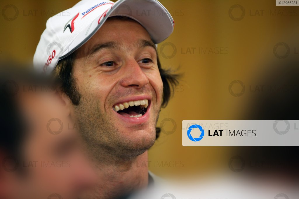 2006 French Grand Prix - Thursday Preview, Magny Cours, France. Jarno Trulli, Toyota TF106B, portrait. 13th July 2006  World Copyright: Steve Etherington/LAT Photographic   ref: 48mb Hi Res Digital Image Only