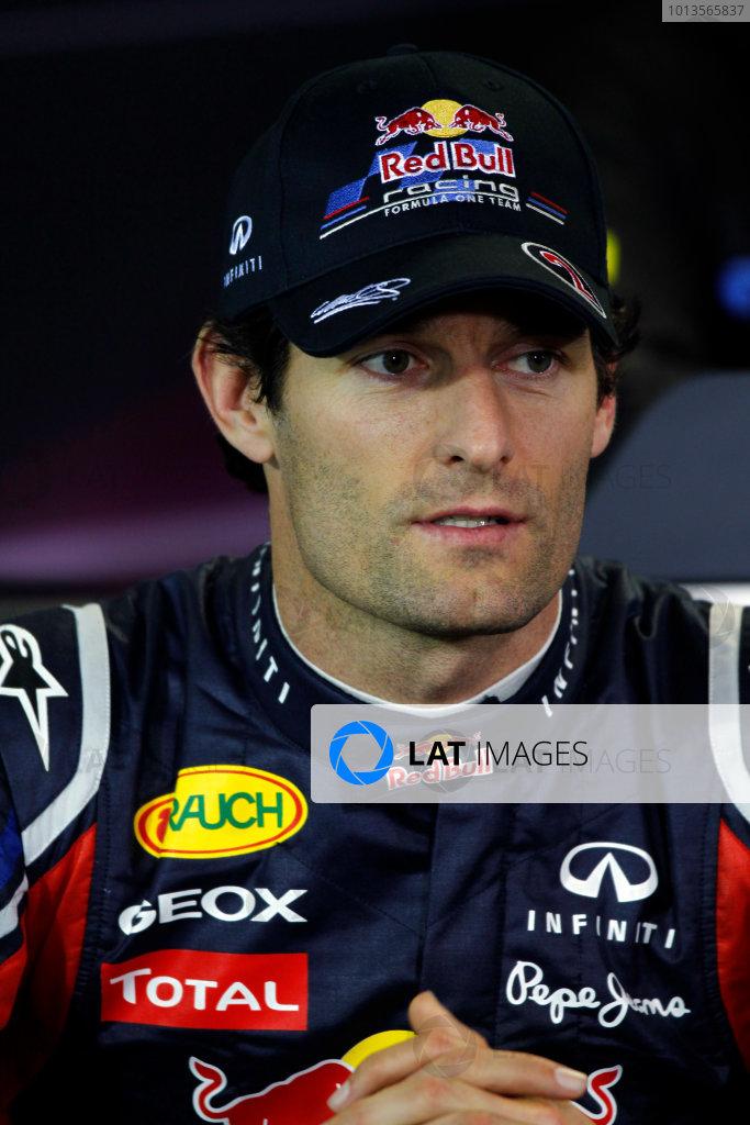 Albert Park, Melbourne, Australia24th March 2011.Mark Webber, Red Bull Racing RB7 Renault.World Copyright: Andrew Ferraro/LAT Photographicref: Digital Image _Q0C6839