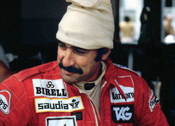 Buenos Aires, Argentina. 19-21 January 1979. Clay Regazzoni (Williams FW06-Ford), 10th position, portrait.  World Copyright: LAT Photographic. Ref: 79ARG