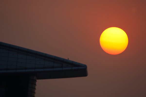 Shanghai International Circuit, Shanghai, China. 18th October.