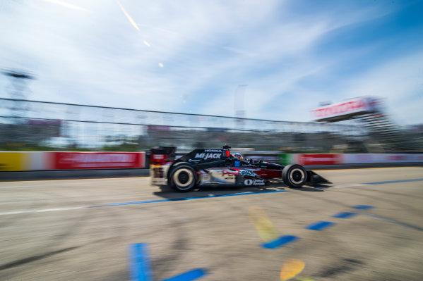 2017 Verizon IndyCar Series Toyota Grand Prix of Long Beach Streets of Long Beach, CA USA Friday 7 April 2017 Graham Rahal World Copyright: Gavin Baker/LAT Images