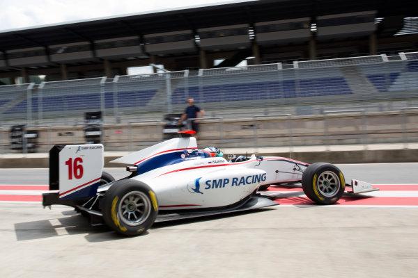 2016 GP3 Series Testing.  Spielberg, Austria. Red Bull Ring,  Wednesday 8th June 2016 . Matevos Isaakyan (RUS, Koiranen GP). Action.  Photo: Alastair Staley/GP3 Media Service  ref: 585A9179