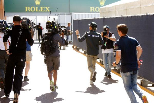 Monte Carlo, Monaco. Saturday 24 May 2014. Nico Rosberg, Mercedes AMG. World Copyright: Charles Coates/LAT Photographic. ref: Digital Image _J5R2200
